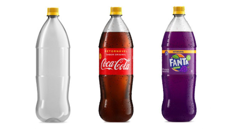Coca-Cola Brasil lança novas embalagens retornáveis