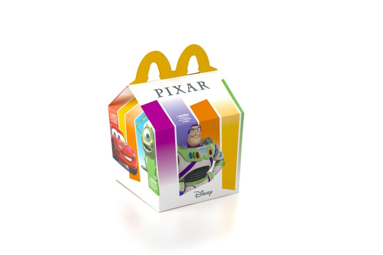 McLanche Feliz Pixar