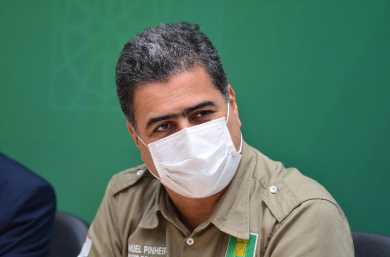Pra frente Cuiabá - prefeito Emanuel Pinheiro - foto de Davi Valle