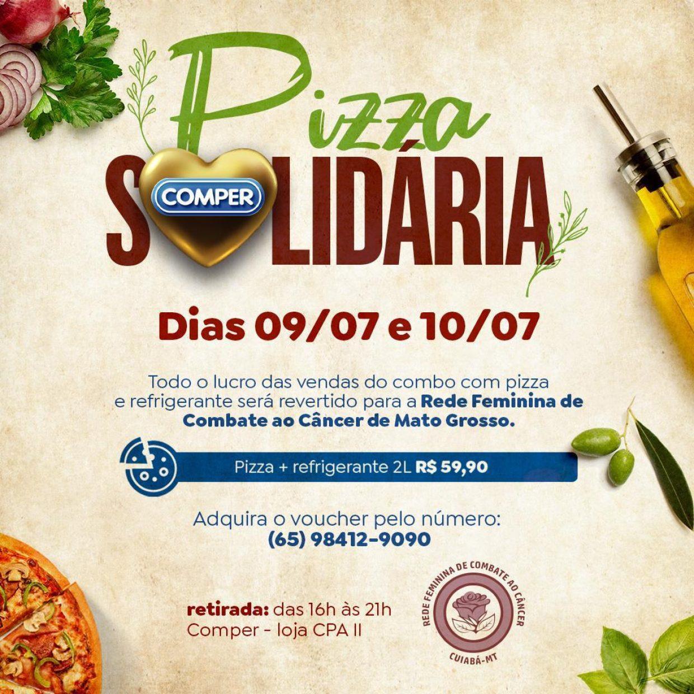 pizza solidaria
